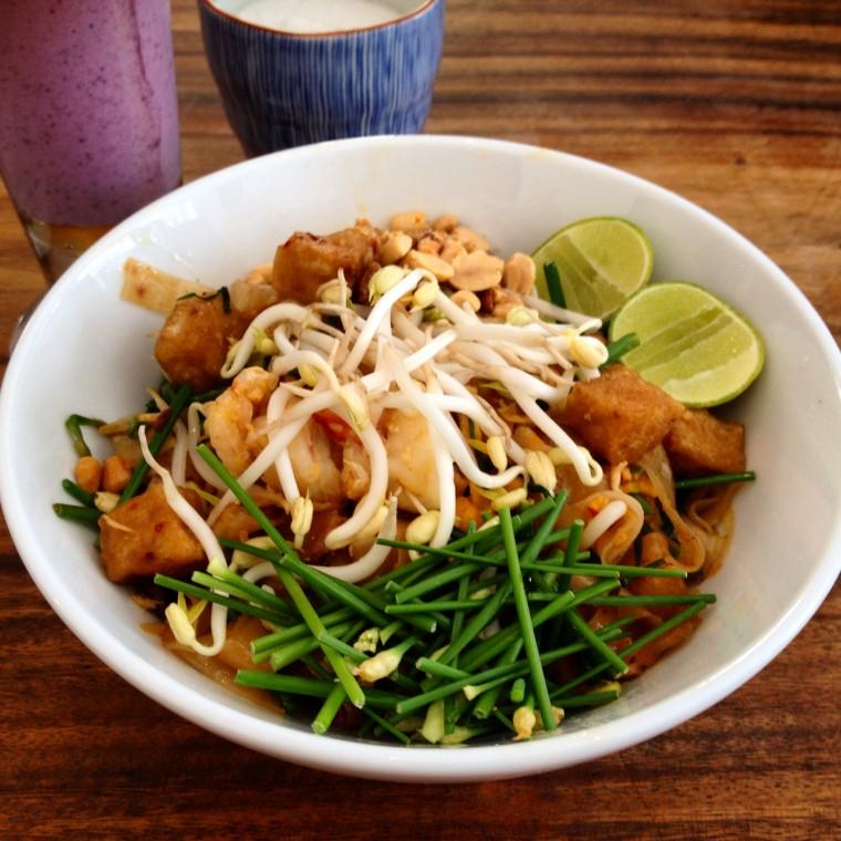 Pad Thai at Jaan Bai